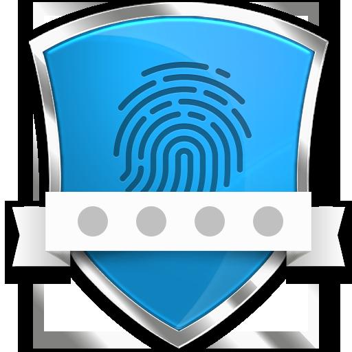 App lock - Real Fingerprint, Pattern & Password أيقونة