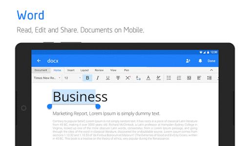 Polaris Office - Free Docs, Sheets, Slides   PDF screenshot 10