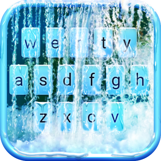 Waterfall Animated Keyboard   Live Wallpaper icon