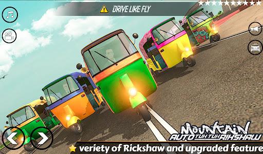Mountain Auto Tuk Tuk Rickshaw Novos Jogos de 2020 screenshot 6