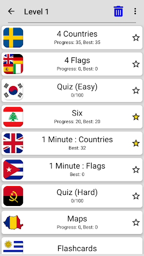 Flags of All Countries of the World: Guess-Quiz 7 تصوير الشاشة
