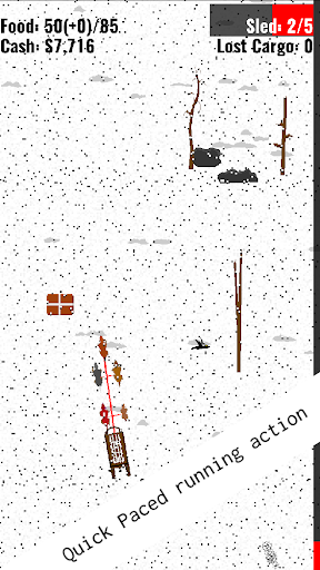 BISC: Alaskan Dog Sledding Runner Game screenshot 2