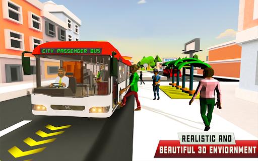 City Driving Coach Passenger Bus Simulator 3D screenshot 7