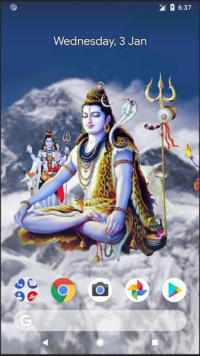4D Shiva Live Wallpaper 1 تصوير الشاشة