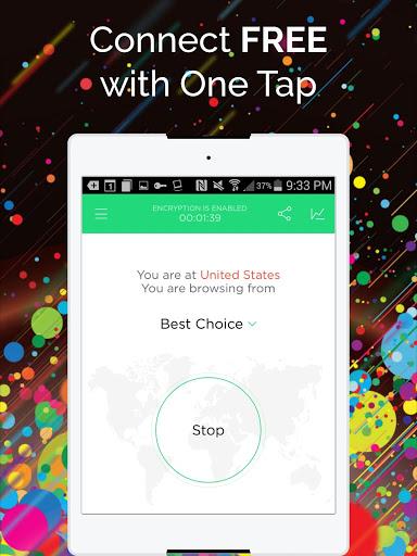 Touch VPN -Free VPN Proxy & WiFi Privacy screenshot 5