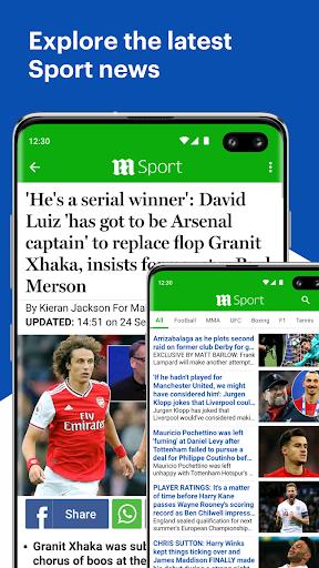 Daily Mail Online 3 تصوير الشاشة
