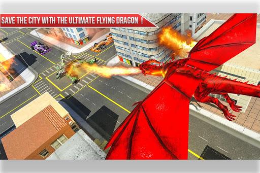 Formula Car Robot Transform - Flying Dragon Robot screenshot 3