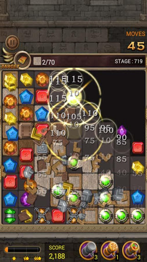 Jewels Temple Quest : Match 3 स्क्रीनशॉट 7