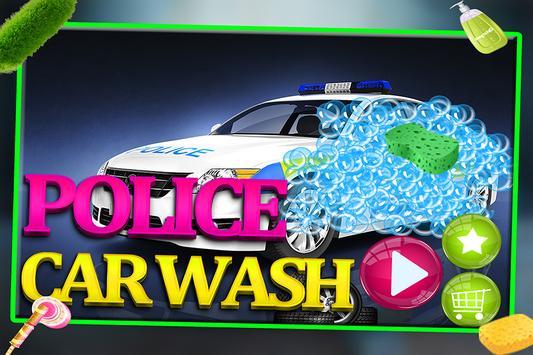 Messy Police Car Wash Salon screenshot 5