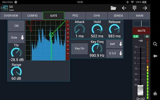 Mixing Station XM32 screenshot 9