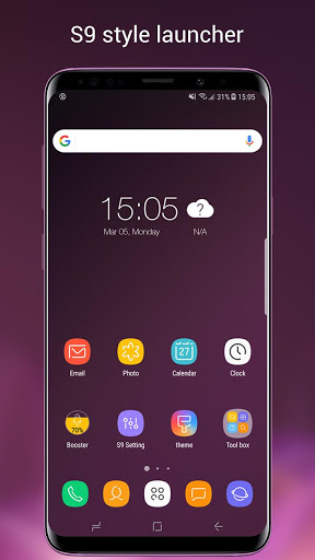 Super S9 Launcher for Galaxy S9/S8/S10 launcher screenshot 1