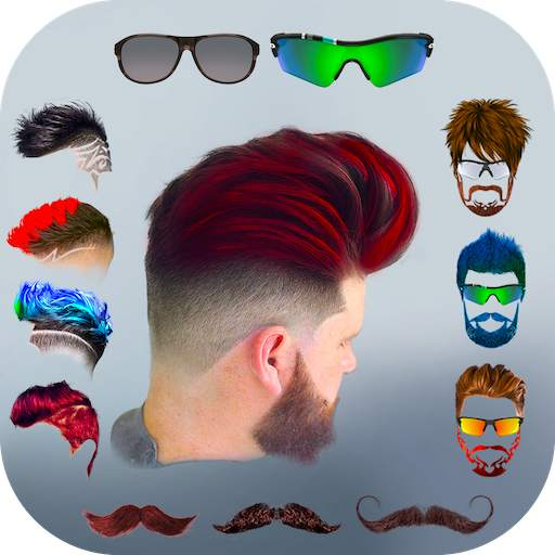 Hairy - Men Hairstyles beard & boys photo editor