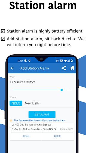 Live Train & Indian Rail Status - Locate My Train 7 تصوير الشاشة
