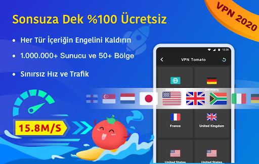 Ücretsiz VPN Tomato | En Hızlı Ücretsiz VPN Proxy screenshot 1