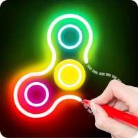 Draw Finger Spinner on 9Apps