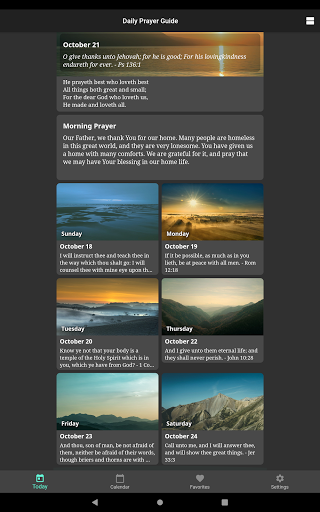 Daily Prayer Guide screenshot 18