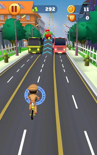 Little Singham Cycle Race screenshot 21