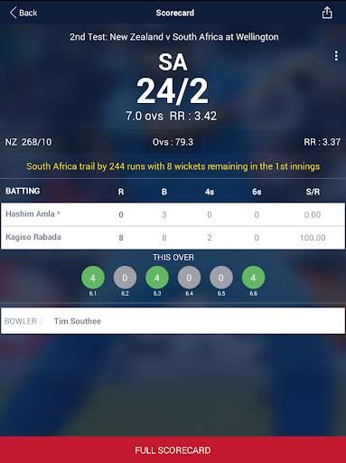 Cricket Live Score & Schedule 10 تصوير الشاشة