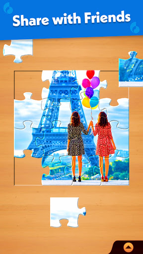 Jigsaw Puzzle: Create Pictures with Wood Pieces 6 تصوير الشاشة