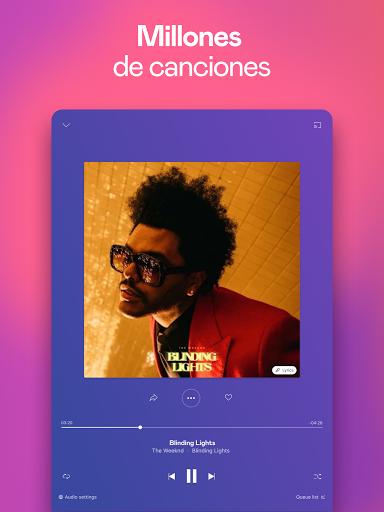 Deezer: música, playlists y podcasts screenshot 9