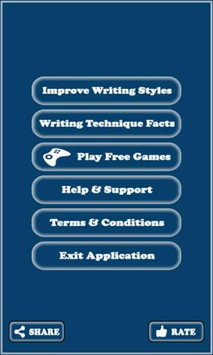 Writing Skills screenshot 2