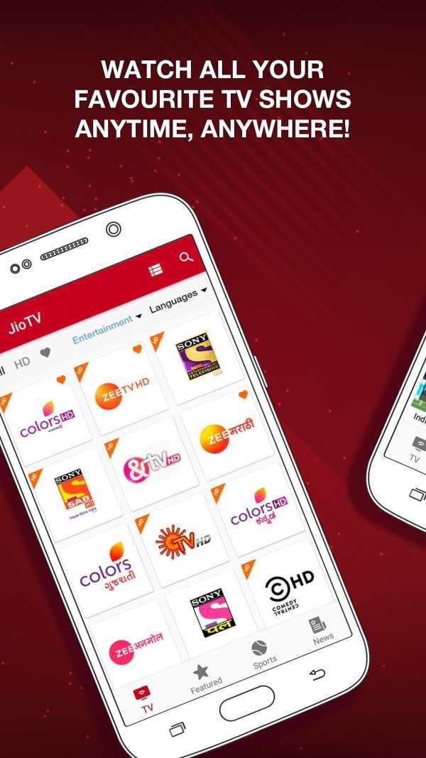JioTV – News, Movies, Entertainment, LIVE TV screenshot 2
