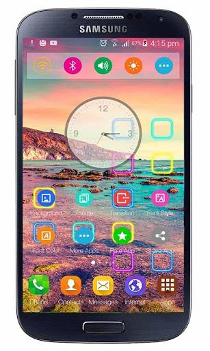 Launcher Oppo F1s Selfie Theme screenshot 2