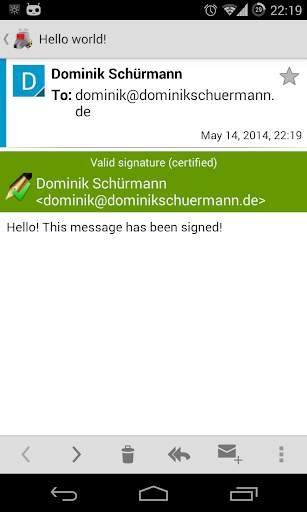 OpenKeychain: Easy PGP screenshot 7
