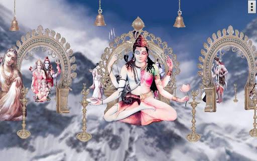 4D Shiv Parvati Live Wallpaper screenshot 3