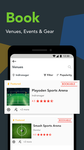 Playo – Connect. Play. Track. screenshot 4
