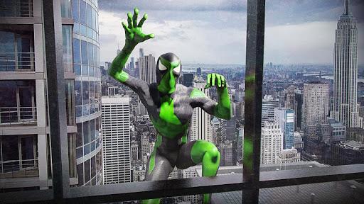 Rope Frog Ninja Hero - Strange Gangster Vegas screenshot 2