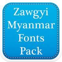 Zawgyi Myanmar Fonts Pack on 9Apps