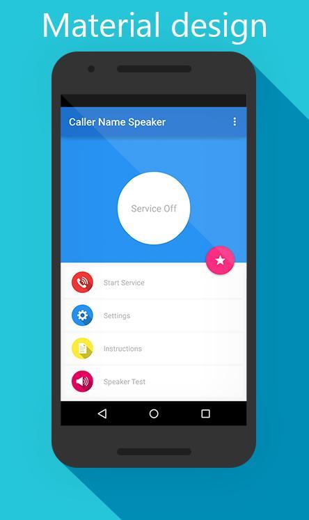 Caller Name Speaker screenshot 1