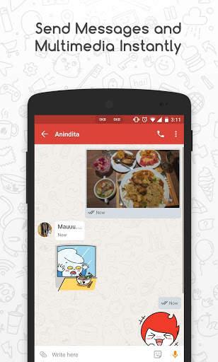 Catfiz Messenger 3 تصوير الشاشة