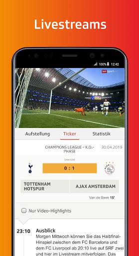 SRF Sport - News, Livestreams, Resultate screenshot 2