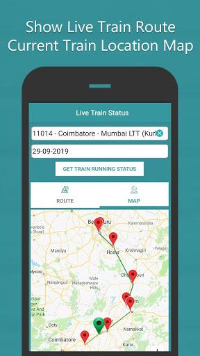 Where is my Train - Train Live Location & Status 3 تصوير الشاشة