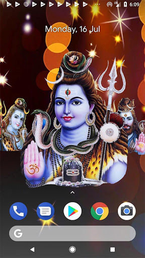 4D Shiv Shankara Live Wallpaper screenshot 6