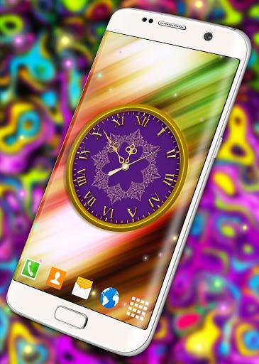 HD Clock Wallpaper ❤️ Beautiful Live Analog Clock screenshot 3