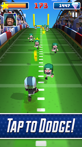 Marshawn Lynch Blocky Football screenshot 9