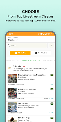 Fitternity - Health & Fitness App screenshot 4