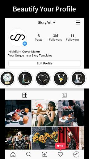 StoryArt - Insta story editor for Instagram 3 تصوير الشاشة