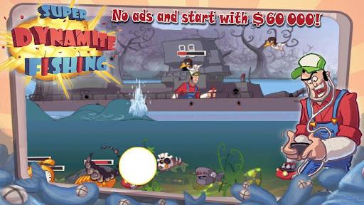 Super Dynamite Fishing Premium screenshot 1