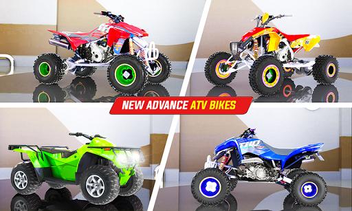 Light ATV Quad Bike Racing, Traffic Racing Games screenshot 7