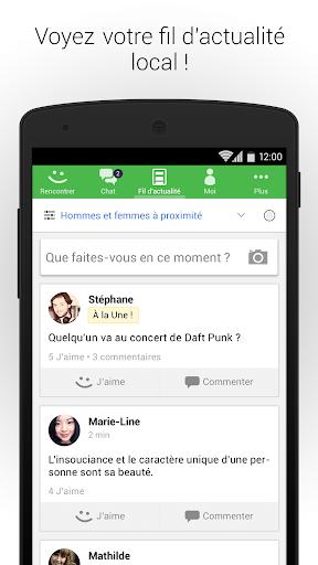 MeetMe – rencontrez de nouveaux amis en ligne ! screenshot 4