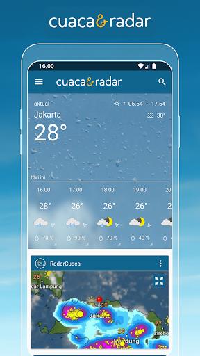 Cuaca & Radar screenshot 1