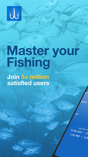 Fishing Points: GPS, Tides & Fishing Forecast 1 تصوير الشاشة