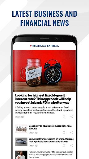 Financial Express - Latest Market News   ePaper screenshot 1