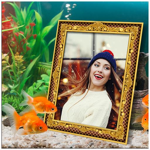 Aquarium Photo Frames أيقونة