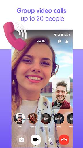 Viber Messenger - Messages, Group Chats & Calls स्क्रीनशॉट 1