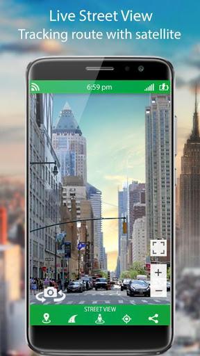 التجوّل الافتراضي المباشر وملاحةGPSوخرائطالأرض2021 2 تصوير الشاشة